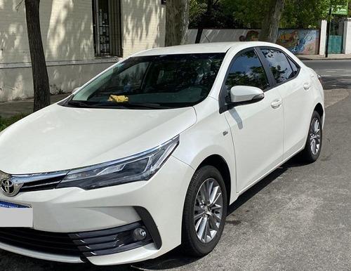 toyota corolla motor 1.8 xei caja cvt 4 puertas blanco 2017