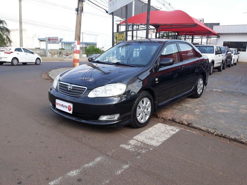Toyota Corolla S 1.8 A/t 2007 Preta Gasolina. Carregando Zoom.