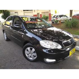 Toyota Corolla Seg 1.8 Aut 2005 Preto Completo Muito Novo!!