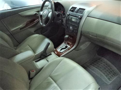 toyota corolla seg 1.8 flex aut 2010  completo + airbag +abs