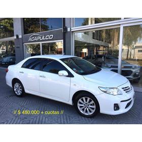 Toyota Corolla Seg 2014 */ 480000 + Cuotas /*