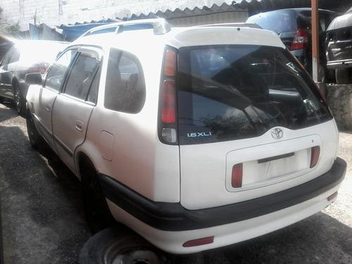 toyota corolla wagon 1.6 gli 97/98 - sucata só peças