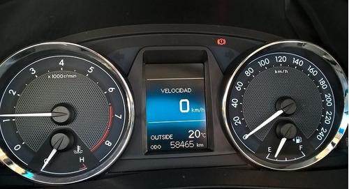 toyota corolla xei 1.8 2015 58500 km gris plata