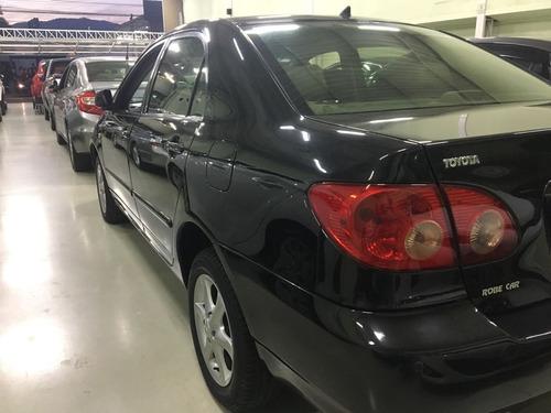 toyota- corolla xei 1.8 automático 2006 completo, robe car