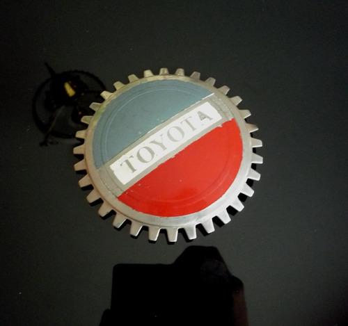 toyota emblema parrilla antiguo auto coleccion retr 24217swt