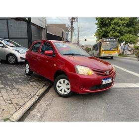 Toyota Etios 1.3 X Flex 2015 Unico Dono Impecavel