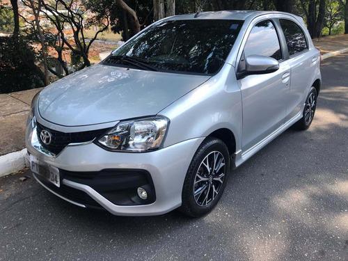 toyota etios 1.5 16v platinum aut. 4p 2018