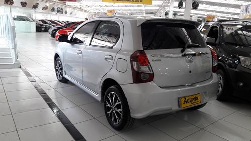 toyota etios 1.5 16v platinum aut. 5p financio