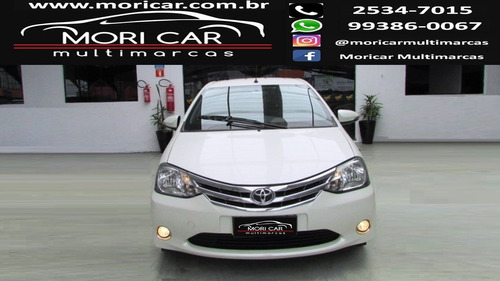 toyota etios 1.5 platinum sedan 16v flex 4p manual 2015/2016