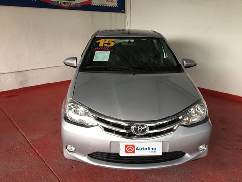 toyota etios 1.5 platinum sedan 16v flex 4p manual