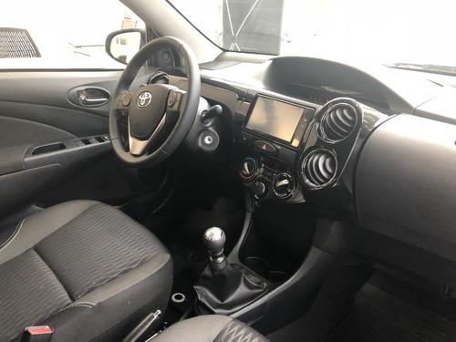 toyota etios 1.5 sedan xls 4p manual 0km conc prana