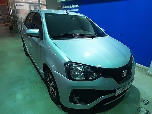 toyota etios 1.5 sedan xls at 2019