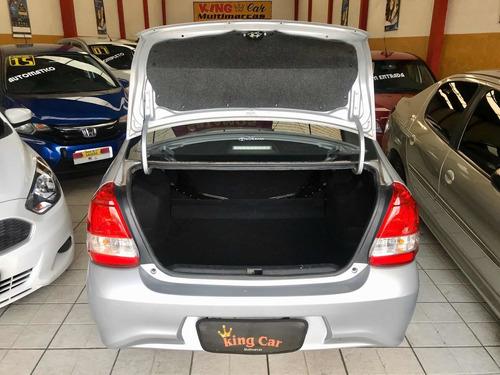 toyota etios 1.5 x automatico 2018 kingcar multimarcas