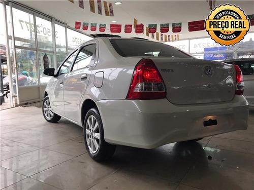 toyota etios 1.5 x plus sedan 16v flex 4p manual