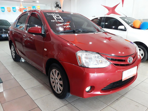 toyota etios 1.5 x sedan 16v flex 4p manual 2014