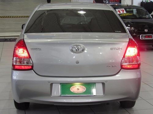 toyota etios 1.5 xs sedan 16v flex manual 2013
