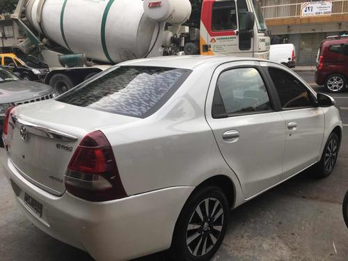 toyota etios 2015 1.5 sedan platinum =0km nuevo!! argemotors