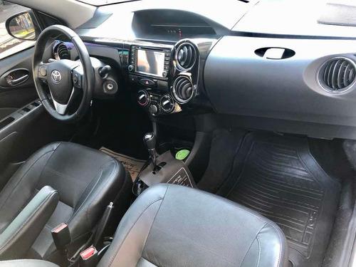 toyota etios 2016 1.5 sedan platinum