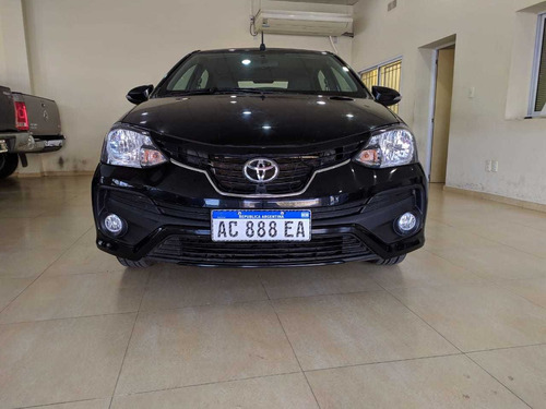 toyota etios 2018 1.5 platinum at