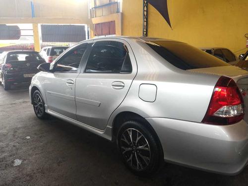 toyota etios 2018 1.5 platinum sedan flex 4p