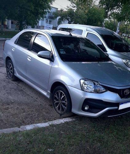 toyota etios 2018 1.5 sedan platinum at