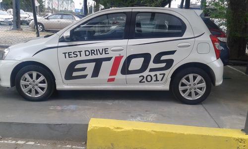 toyota etios 5 puertas version x 100% financiado