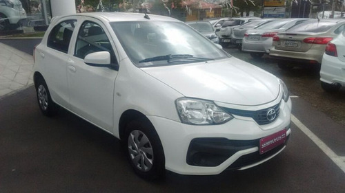 toyota etios hatch x 1.3 16v flex 2017/2018 3779