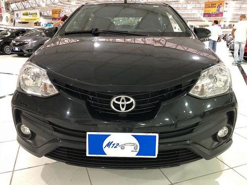toyota etios sd xls 1.5 aut 2018