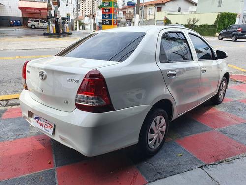 toyota etios sedan 2019 automatico - carro para aplicativo