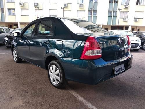 toyota etios sedán etios xs sedan 1.5 flex 16v 4p aut.