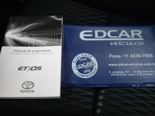 toyota etios sedan x 1.5 flex automatico completo unico don
