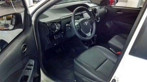 toyota etios sedan xls 1.5 16v at flex 2016/2017 8624