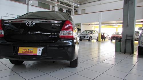toyota etios sedan xls 1.5 ano 2014