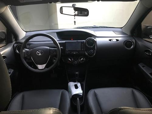 toyota etios sedan xls 2017 1.5 16v flex 4p automatico