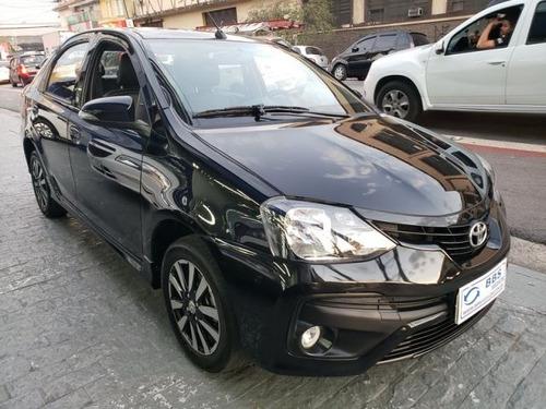 toyota etios sedan xls-at 1.5 16v flex, bcc3245