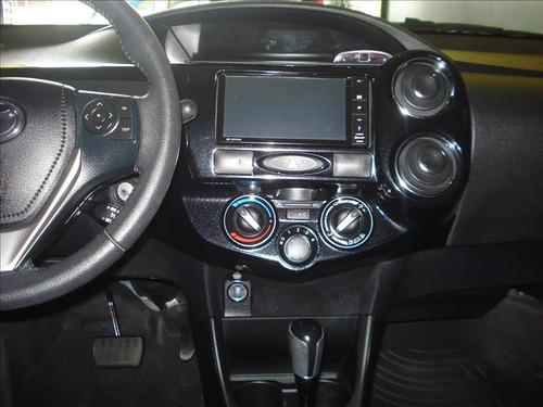 toyota etios sedan xls automático motor 1.5 2017 prata