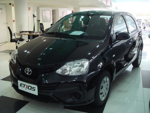 toyota etios x 1.3 16v 5p hatch completo autom. 0km2020