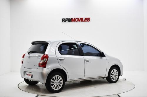 toyota etios xls 1.5 manual 5p 2014 rpm moviles