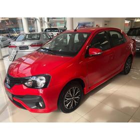 Toyota Etios Xls 4p Mt 0km Conc Prana