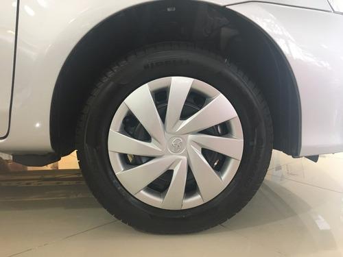 toyota etios xs 1.5 m/t 4 puertas 0km contado sarthou