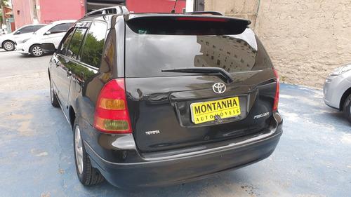 toyota filder xei 1.8  ano 2006 montanha automoveis