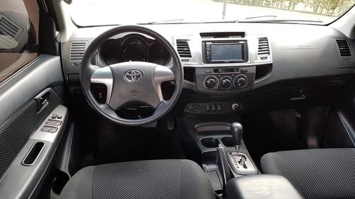toyota fortuner 2.700cc modelo 2014