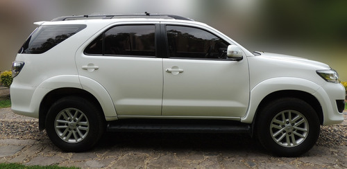 toyota fortuner full motor 2.7 2016 blanca 5 puertas