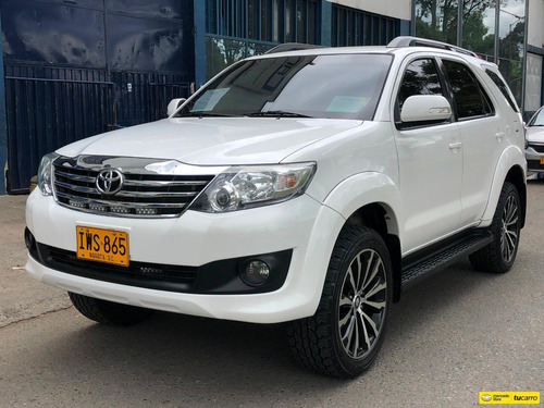 toyota fortuner sr5 2700icc at 4x2 blindada fe