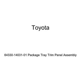 Toyota Genuine 64330-20710-01 Package Tray Trim Panel Assembly