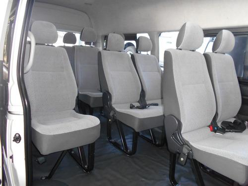 toyota hiace 15 pasajeros impecable