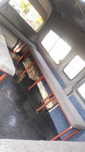 toyota hiace 2006 super larga panel con ventanas