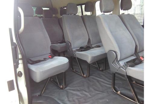 toyota hiace 2013 bus 15 pasajeros sin canasitilla y racks