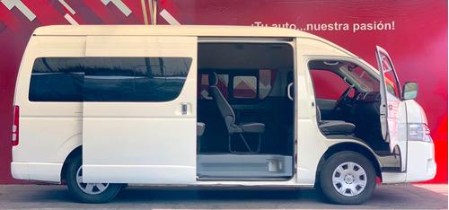 toyota hiace 2018 15 pasajeros