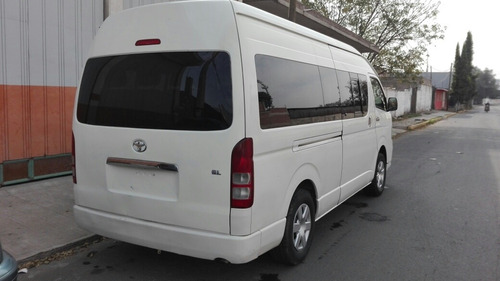 toyota hiace 2.7 bus 15 pas mt 2012